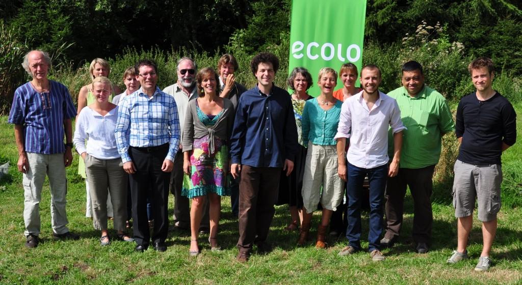 Photo des candidats aux élections communales de 2012